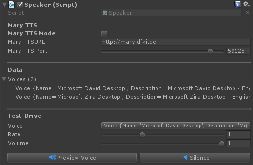 RT-Voice - Assets | Products | crosstales